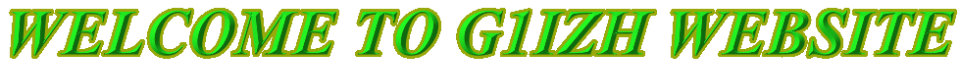 G1IZH AMATEUR RADIO WEBSITE
